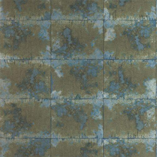 Harlequin Oxidise Moonstone Brass Anthology 03 Wallpaper