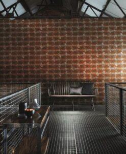 Harlequin Oxidise Copper Slate Anthology 03 Wallpaper photo