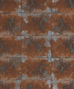 Harlequin Oxidise Copper Slate Anthology 03 Wallpaper