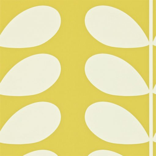 Giant Stem Wallpaper by Orla Kiely - Mimosa