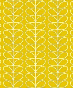 Linear Stem wallpaper by Orla Kiely - Mimosa