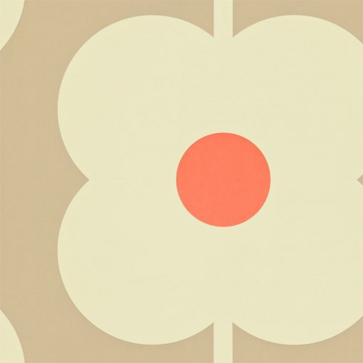 Giant Abacus Orla Kiely Wallpaper Mink