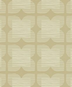 Flower Tile - Orla Kiely Wallpaper - Stone