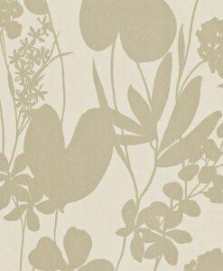 Nalina wallpaper - Linen