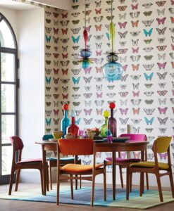 Papilio butterfly wallpaper - Amazilia Collection by Harlequin Wallpaper