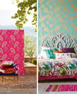Nalina Wallpaper - Amazilia Collection by Harlequin Wallpaper