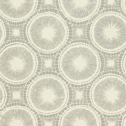 Tree Circles wallpaper from the Melinki Collection by Scion in Pewter & Chalk