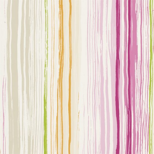 Zing wallpaper by Scion in Peony/Acid/Sunset
