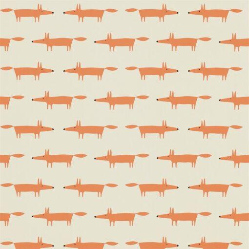 Little Fox wallpaper in ginger