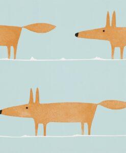 Mr Fox Wallpaper in Auburn
