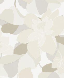 Diva wallpaper by Scion in Graphite/Linen