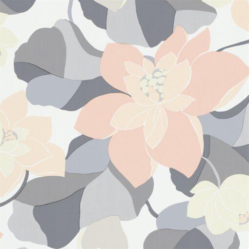 Diva wallpaper by Scion in Pebble/Jasmine