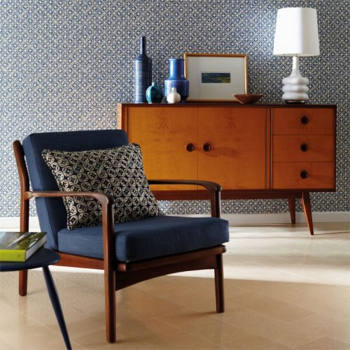 Miro, part of the 'Melinki' collection of wallpaper by Scion