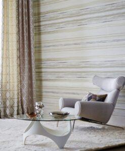 Zing wallpaper by Scion in Pebble/Graphite/Hemp
