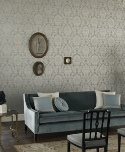 Crivelli Damask Wallpaper by Zophany