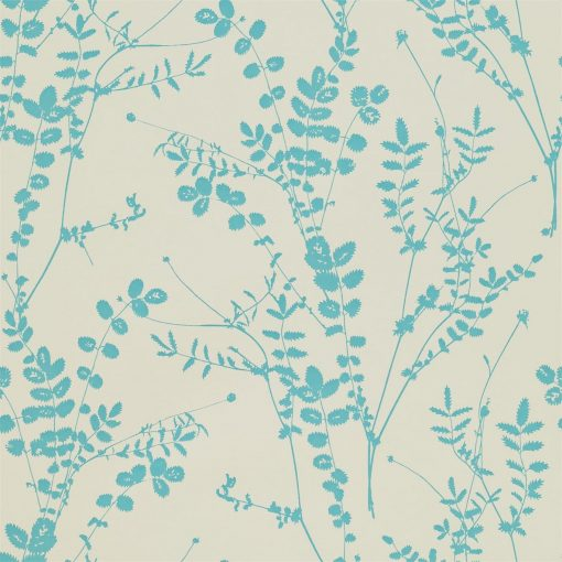 Salvia wallpaper from the Kallianthi Collection by Harlequin, in Putty and Aqua