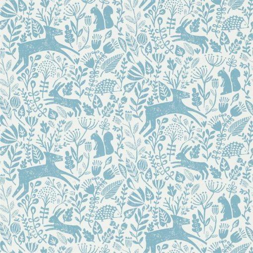 Kalda wallpaper from the Levande Collection by Scion in Cobalt
