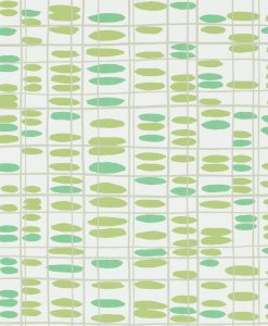 Saldo wallpaper from the Levande Collection by Scion in Apple, Ivy, Pebble