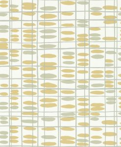 Saldo wallpaper from the Levande Collection by Scion in Toffee, Almond, Pewter