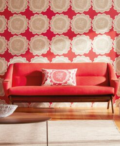 Lotta wallpaper from the Levande Collection by Scion in