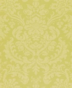 Tours damask wallpaper by Zophany in Pale Green