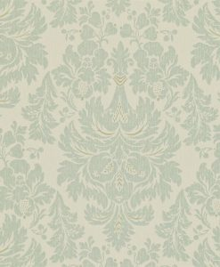 Alvescot damask wallpaper by Zophany in Stockholm