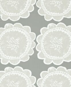 Lotta wallpaper by Scion in Mink/Taupe