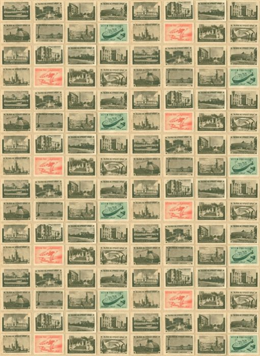 Back in the USSR - Ephemera wallpaper by Linwood