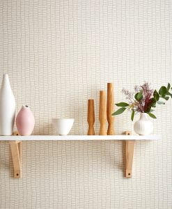 Scion Lohko Wallpaper Tocca in cream and white