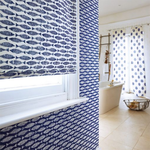 Samaki Wallpaper from the Wabi Sabi Collection by Scion