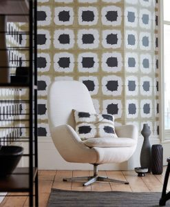 Shoji wallpaper from Scion's Wabi Sabi collection