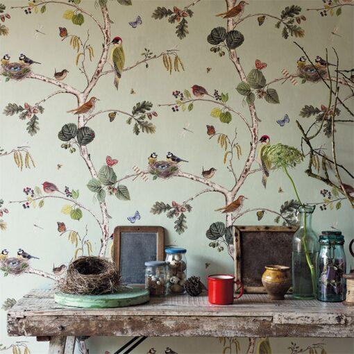 Woodland-Chorus wallpaper