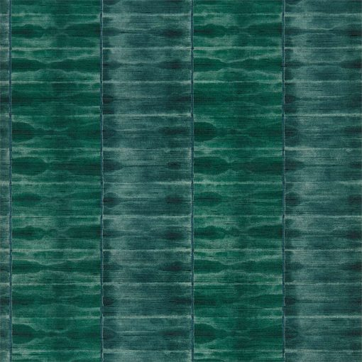 Ethereal wallpaper by Anthology in Emerald & Kingfisher