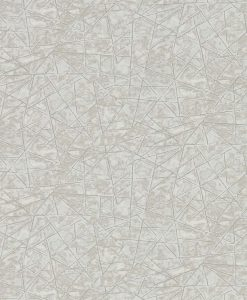 Shatter wallpaper from the Anthology 05 Collection in Ivory and Pebble