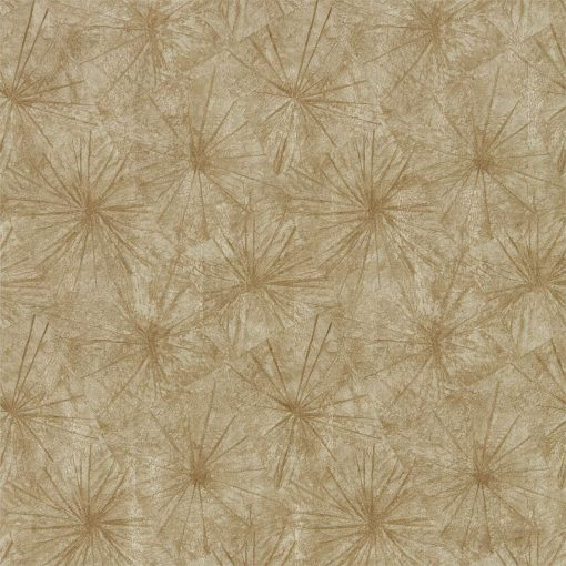 Illusion wallpaper from the Anthology 05 Collection in Gold & Sienna