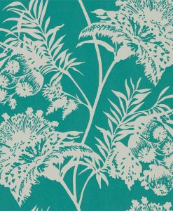 avero Wallpaper in Emerald