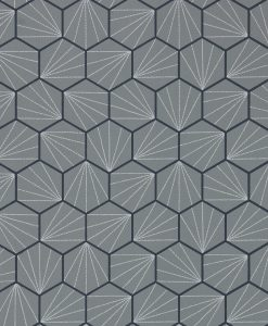 Aikyo Wallpaper in Steel