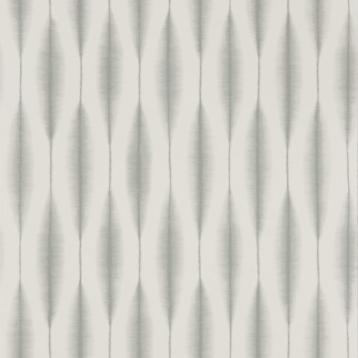 Kasuri wallpaper in Birch