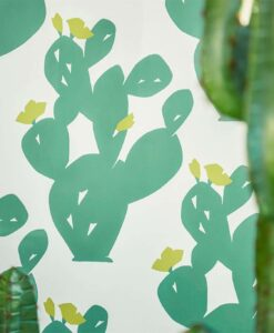Opunita Wallpaper from the Nuevo Collection by Scion