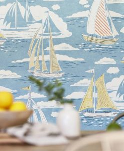 Sailor Wallpaper by Sanderson - part of the Port Isaac Collection