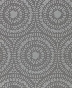 Candencia Wallpaper from the Paloma Collection in French Grey