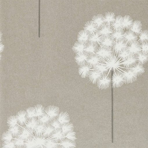 Amity wallpaper from the Paloma Collection in Slate and Putty