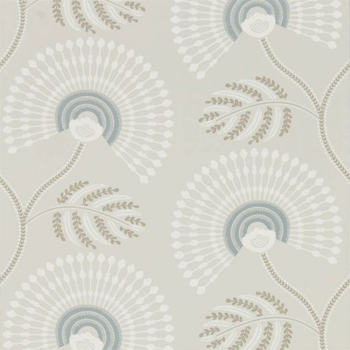 HPUT111910 Louella wallpaper in Seaglass and Pearl