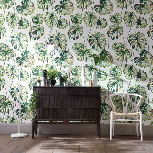 Kelapa wallpaper from the Zapara Collection by Harlequin