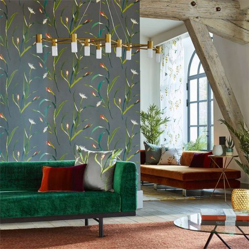 Sanoa Wallpaper from the Zapara Collection by Harlequin