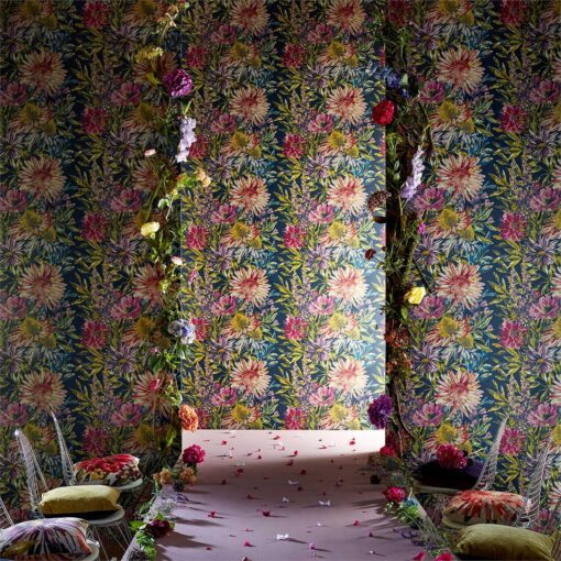 Floreale Wallpaper from the Standing Ovation Collection by Harlequin Wallpaper