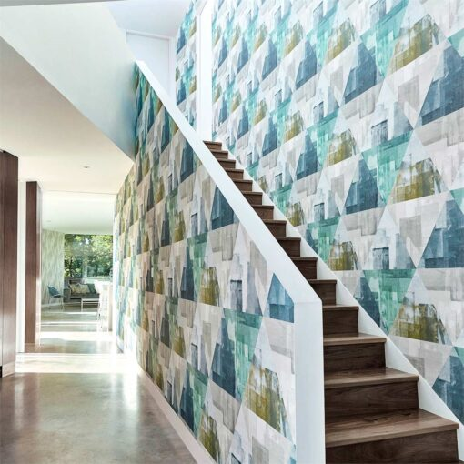 Geodesic Wallpaper from the Entity Collection by Harlequin Wallpaper