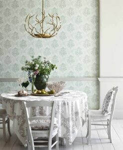 Lerena Wallpaper from the Chiswick Grove Collection by Sanderson Home