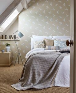 Paper Doves Wallpaper from The Potting Room Collection by Harlequin Wallpaper