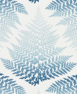 Filix Wallpaper from the Callista Collection by Harlequin Wallpaper Australia in Denim & Indigo